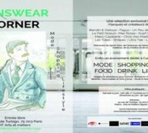Menswear Corner, le rendez-vous mode et lifestyle pour homme dans la capitale !