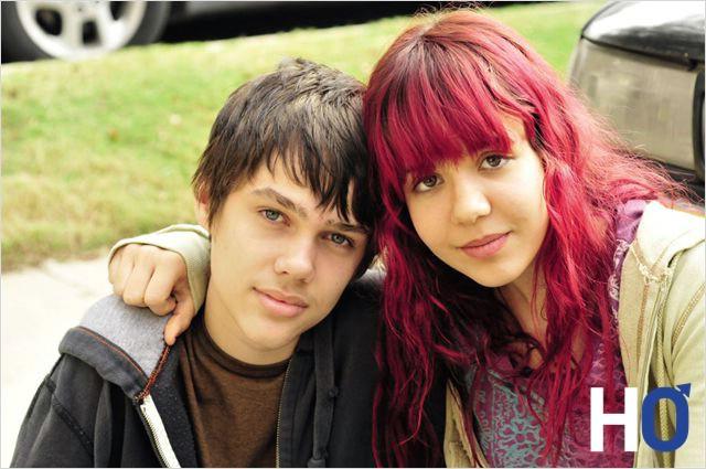 Mason et sa sœur.