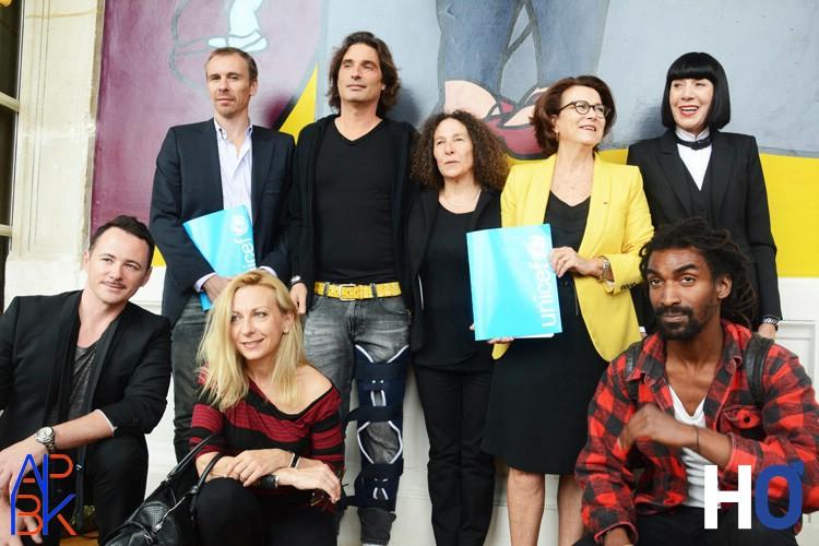 Nicola Le Riche, Richard Orlinski, Claudine Drai, Michèle Barzach, Chantal Thomass, Frédéric Fontan, Natalie Dessay et Cédric Lollia