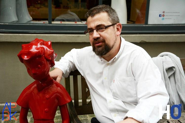 le sculpteur: Mathieu Charoy