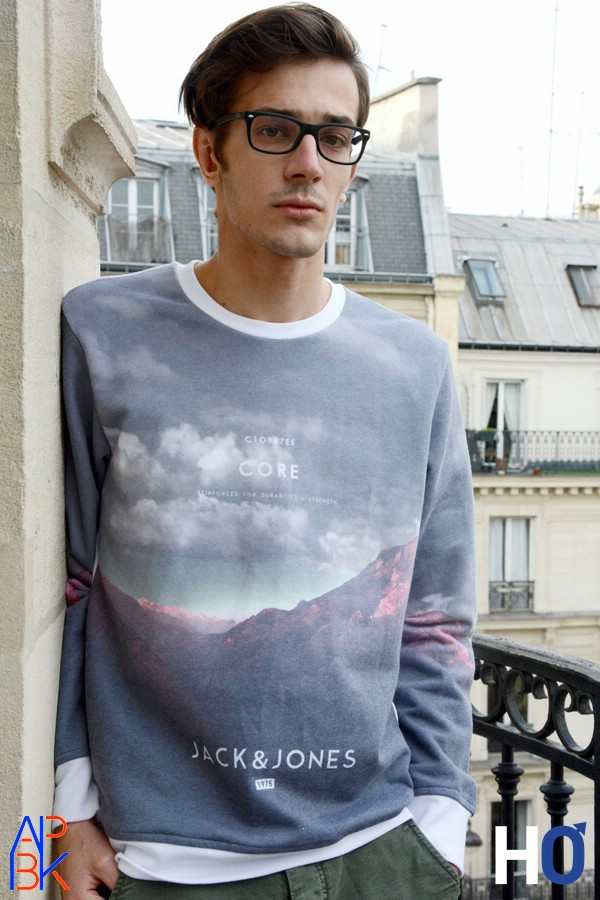 Modèle : Tanguy Core - Sweat crew neck