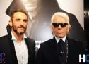 Karl Lagerfeld inaugure sa nouvelle boutique rue Marbeuf à Paris!
