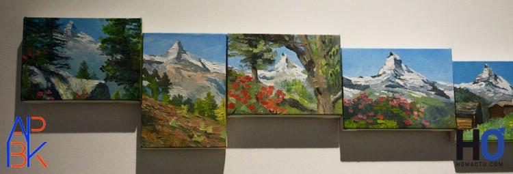Cynthia-Daignault  Le Mont Cervin