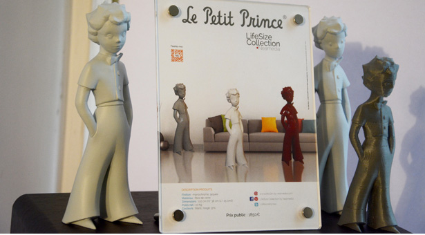 Le Petit Prince, de Saint-Exupéry, un très belle sculpture!
