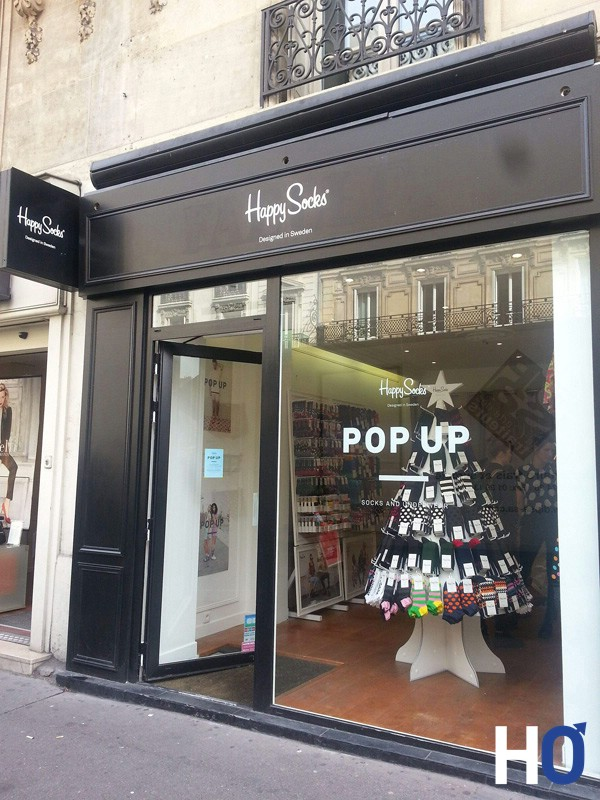HAPPY SOCKS INAUGURE UN POP-UP STORE RUE DE RENNES A PARIS ...