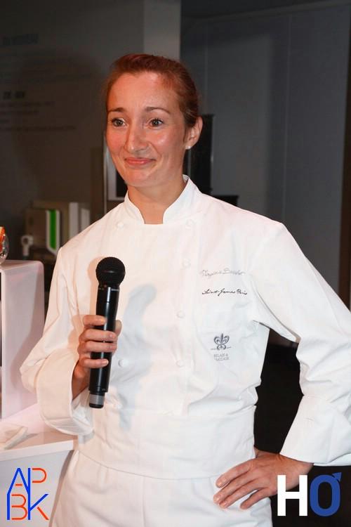 La chef étoilée Virginie Basselot