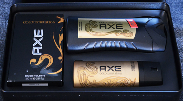 AXE Gold Temptation!