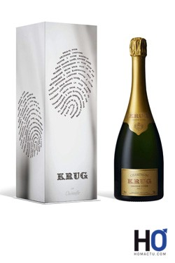 Champagne Krug par Chrsitofle