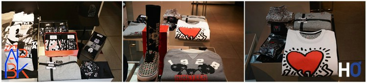 T-shirts et coffrets iconiques: Mickey, Keith Haring, Star War