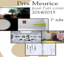 Prix Meurice, 7ème édition pour l'art contemporain 2014/2015 !