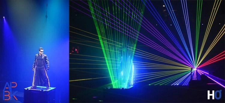 Alexandro Hurtado, l'Homme Laser.