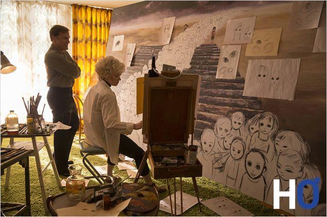 Margaret cachée produit des tableaux que son mari s'appropriera!