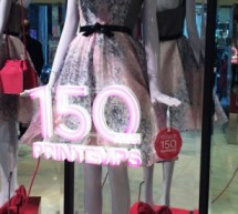 Le magasin du Printemps fête ses 150 ans «Happy 150 Printemps» !