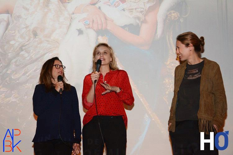 Camille Cottin, Noémie Saglio et Eloïse Lang,