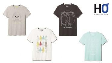Les quatre T-shirts