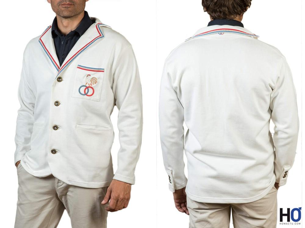 Vestes 1925 Tennis Blanche