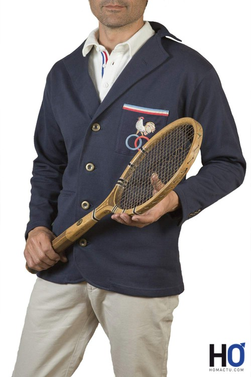 Vestes 1925 Tennis Marine