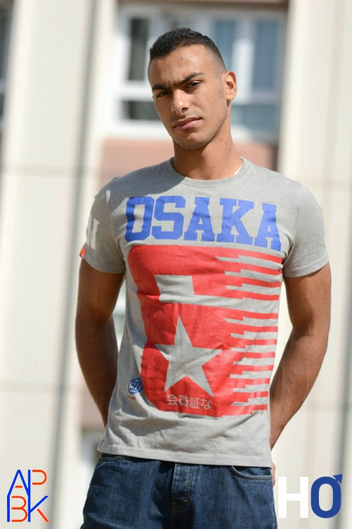 T'shirt Osaka - Modèle : Ilias