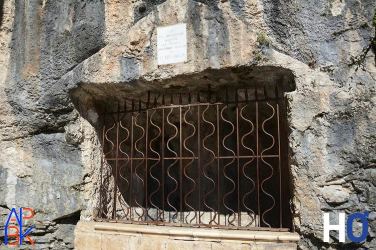 La tombeau de St Amadour, qui a donné son nom à la ville.