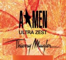 A* MEN Ultra Zest :NOUVEAU PARFUM HOMME THIERRY MUGLER – EDITION LIMITEE ETE !