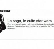 CELIO : collection capsule STAR. WARS !