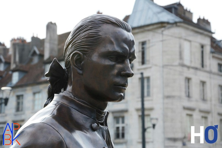 Marquis de Jouffroy d'Abbans , auteur de la 1ère expérience de navigation à vapeur sur le Doubs en 1776