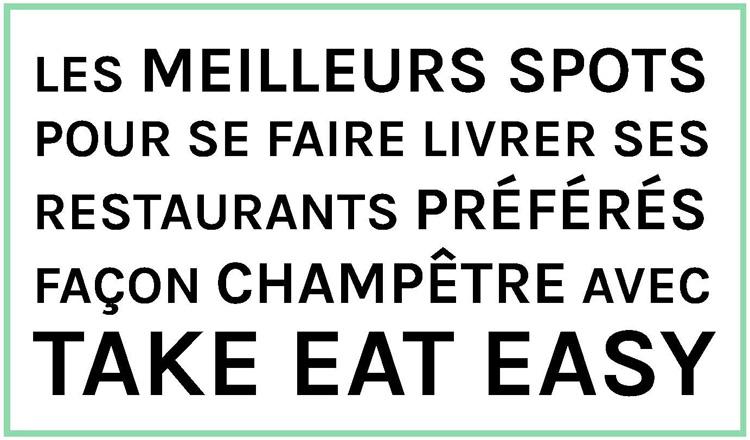 Take Eat Easy