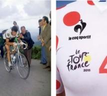 Le Coq Sportif a fêté hier les 40 ans du maillot à pois sur l'étape de Modane – Alpe d'Huez avec un maillot spécifique.