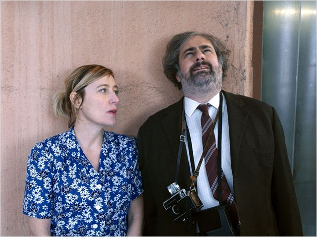 L'nfirmière (Valeria Bruni Tedeschi) et Sternkowitz (Gustave Kervern)