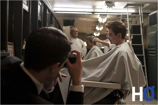 James Dean chez le coiffeur