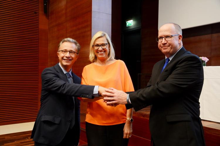 Bertrand Léonard, Chantal Gaemperle et Peter Tod