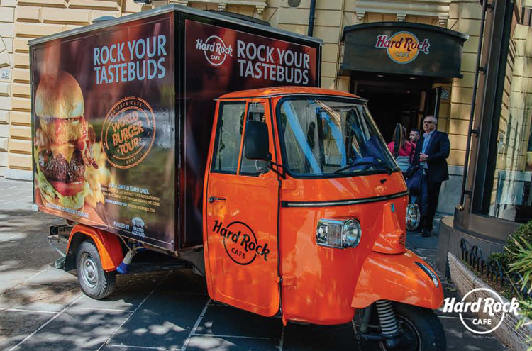 FOOD TRUCK HARD ROCK CAFE
