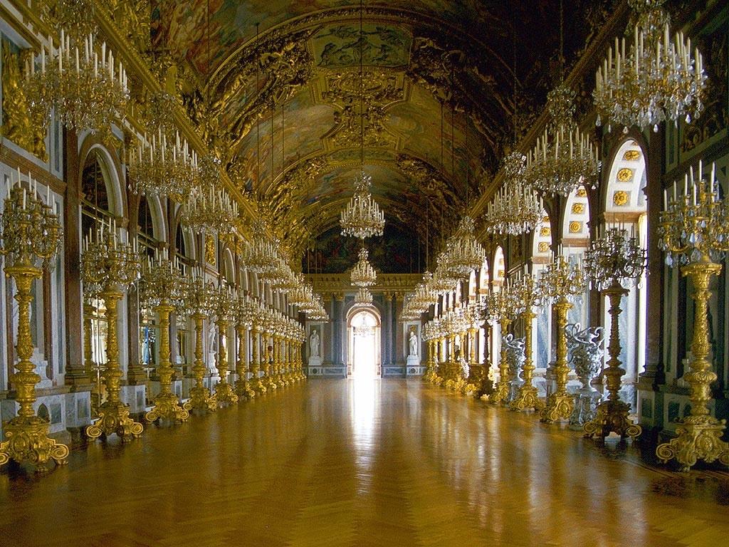 Galerie des glaces du Château de Herrenchiemsee