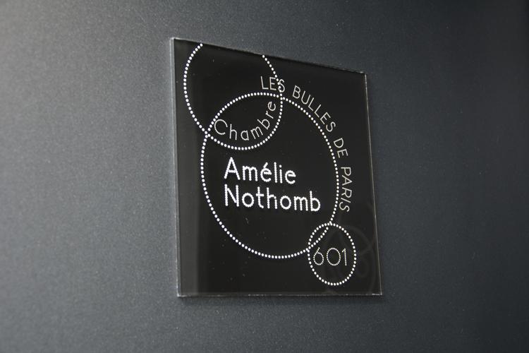 Chambre Amélie Nothomb