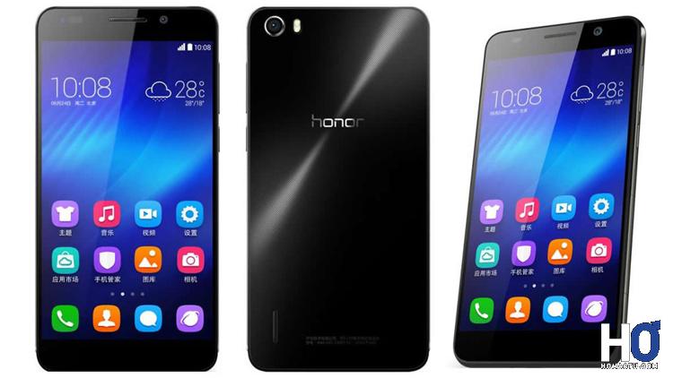Le smartphone Honor 6