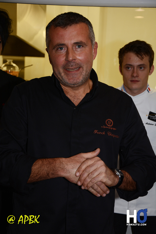 Le Chef Franck Charpentier