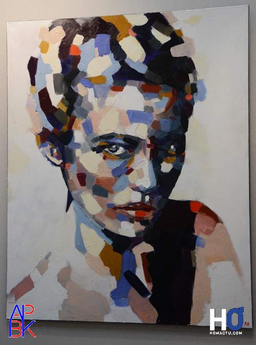 """Peinture de Marion Six - """"Egérie"""""""