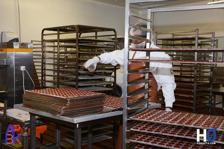 Préparation de macarons