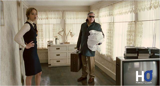 Joy (Jennifer Lawrence) et son père (Robert De Niro)
