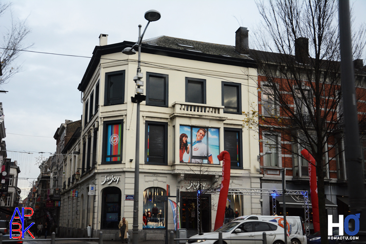 La boutique à Liège.