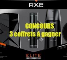 Coffrets Axe Black : 3 coffrets à gagner !
