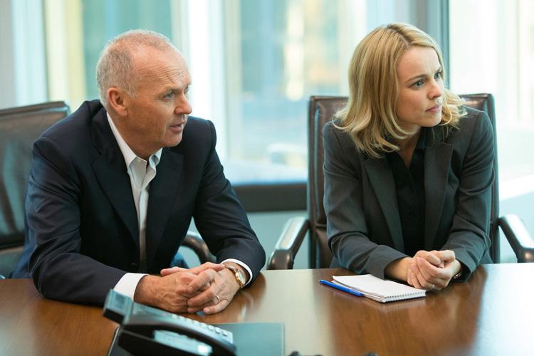 Walter Robinson (Michael Keaton) et Rachel McAdams (Sacha Pfeiffer)