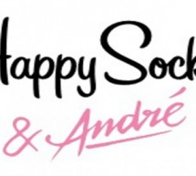 HAPPY SOCKS collabore avec ANDRE pour la saison Printemps/Été 2016