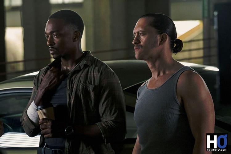Marcus Belmont (Anthony Mackie) et Jorge Rodriguez (Clifton Collins Jr)