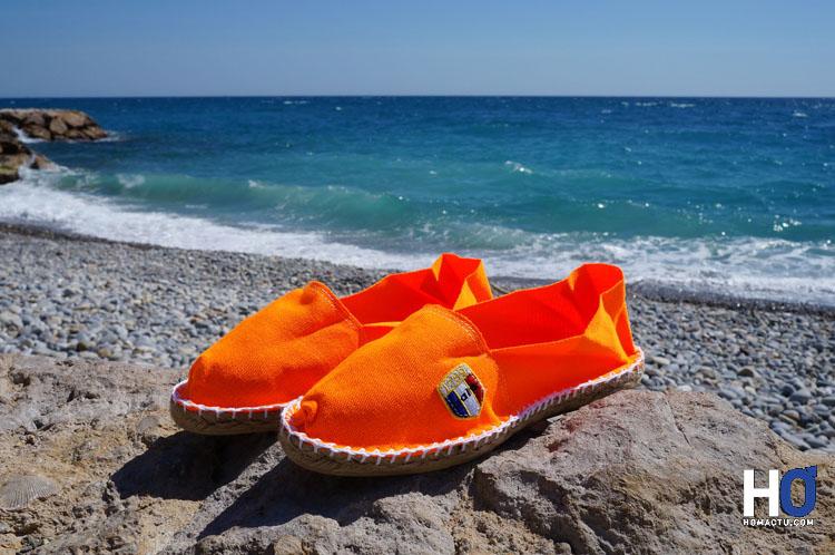 Espadrille Classique fluo orange