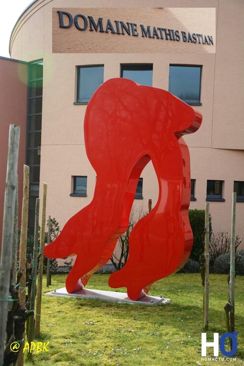 Sculpture de l'artiste allemande Rotraut.