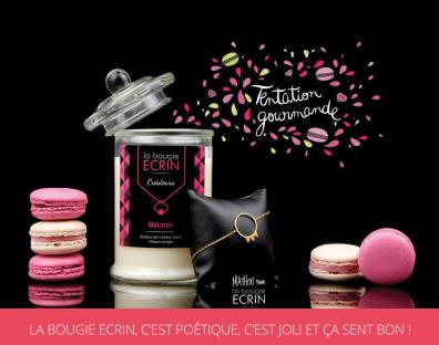 Bougie Ecrin