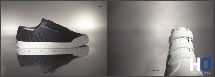 A gauche, modèle : G2 Quilted - à droite : B2 Velcro Leather