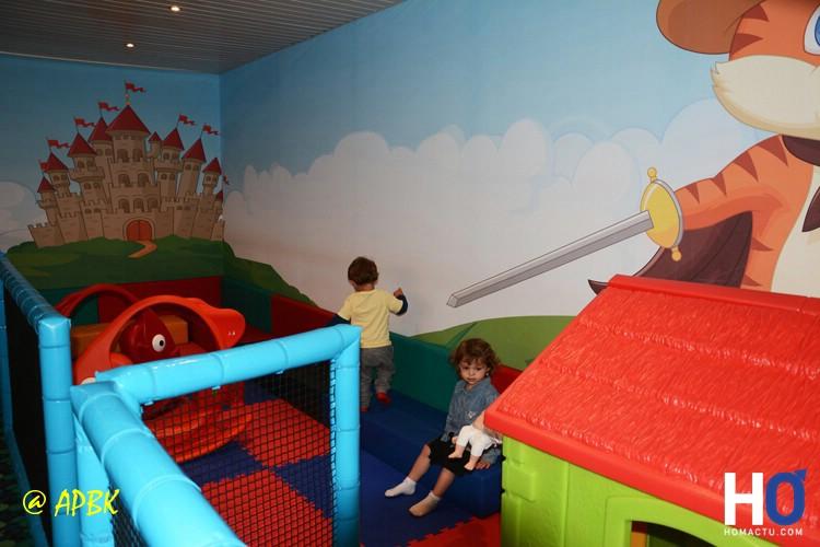 Espace jeux enfants