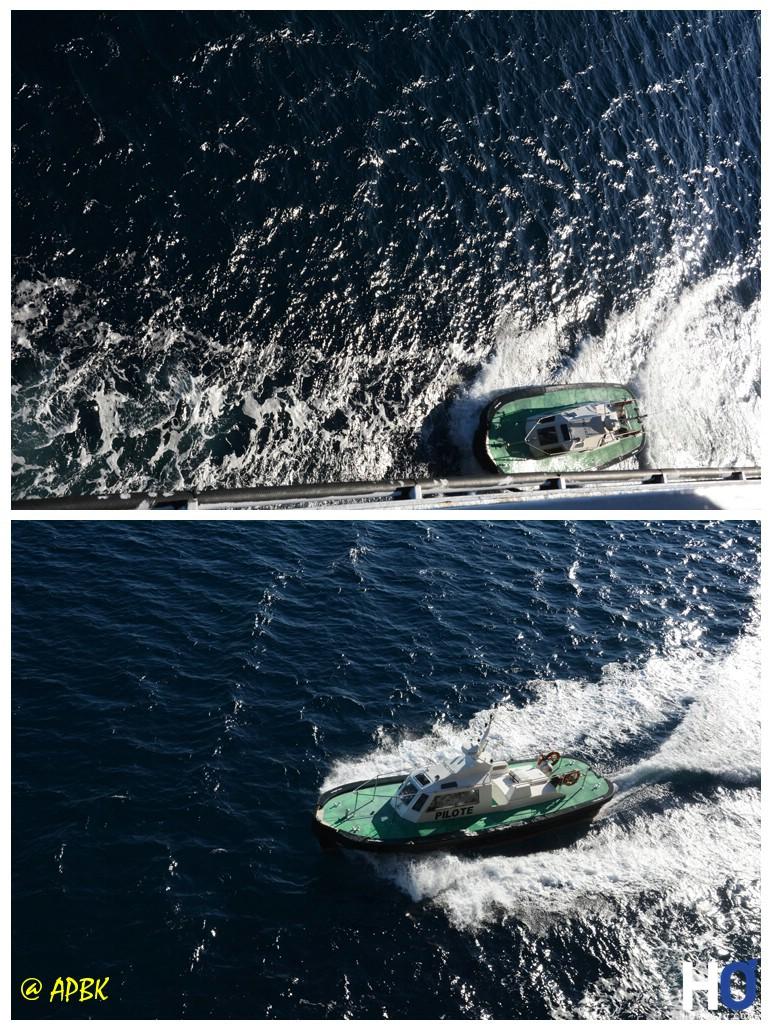 Le bateau pilote